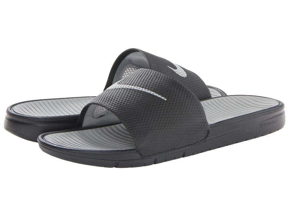 7d89c193a Nike Benassi Solarsoft Slide Mens Shoes (Black) on PopScreen