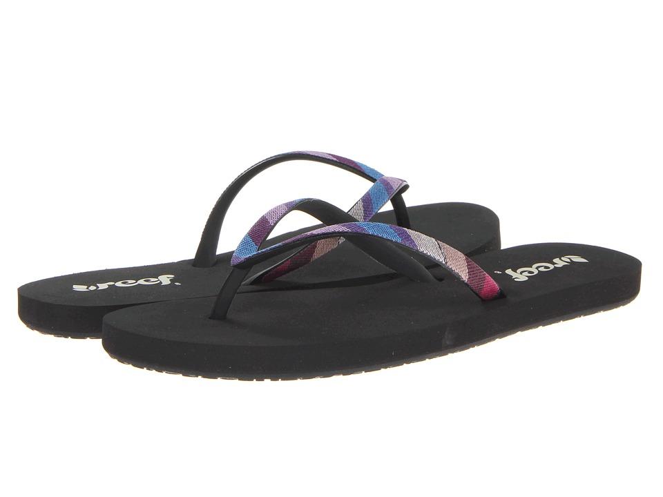 Reef - Guatemalan Stargazer (Black/Multi) Women's Sandals