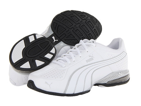 PUMA - Cell Surin (White/White/PUMA) Men's Shoes