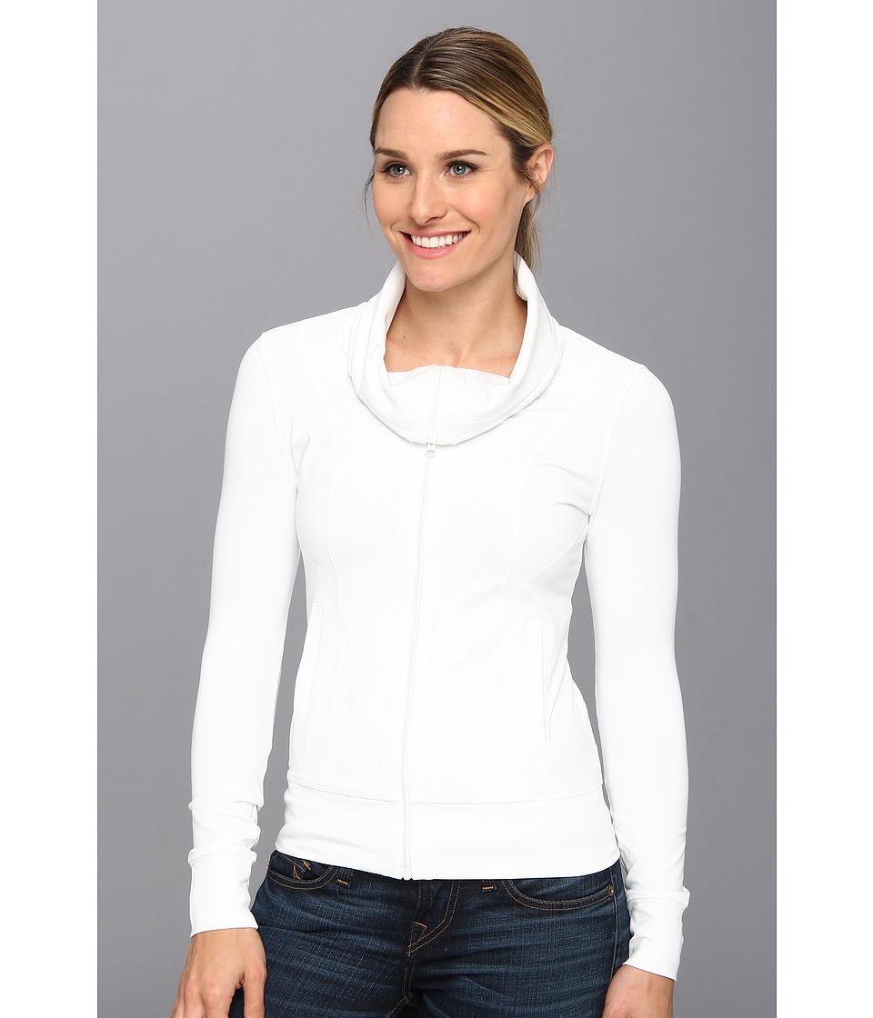 Prana - Cori Jacket (White) Women's Coat