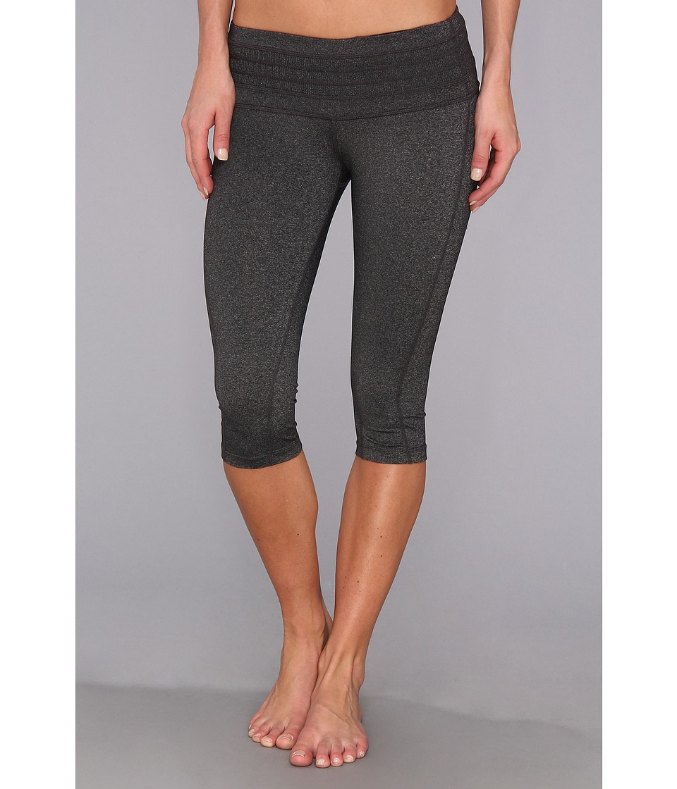Prana - Olympia Knicker (Charcoal Heather) Women's Capri