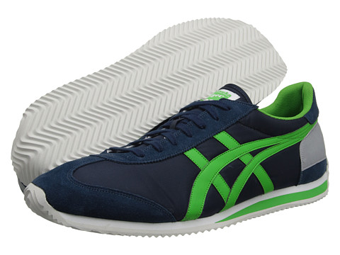 Onitsuka Tiger by Asics - California 78 (Navy/Green Apple) Shoes