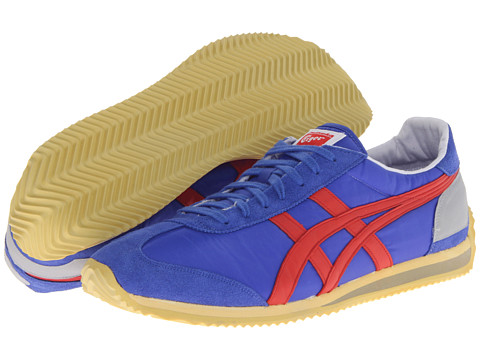 Onitsuka Tiger by Asics - California 78 Vintage (Blue/Fiery Red) Classic Shoes