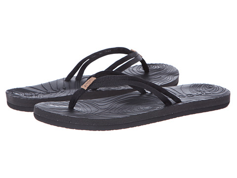 Reef - Double Zen (Black/Black) Women's Sandals