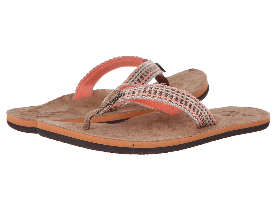 Reef Gypsylove (Tobacco/Coral) Women