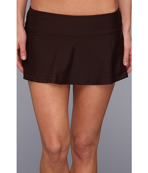 Prana - Sakti Swim Skirt (Espresso) Women's Swimwear