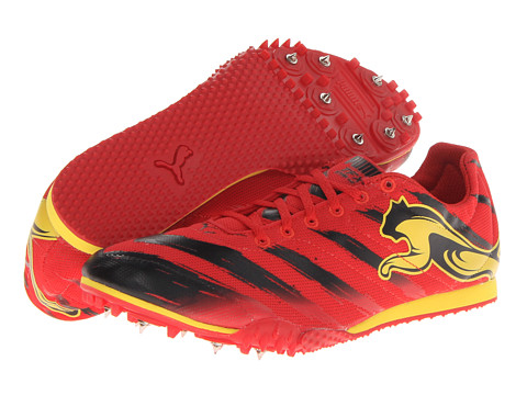 PUMA - TFX Star v2 (High Risk Red/Black/Vibrant Yellow) Men