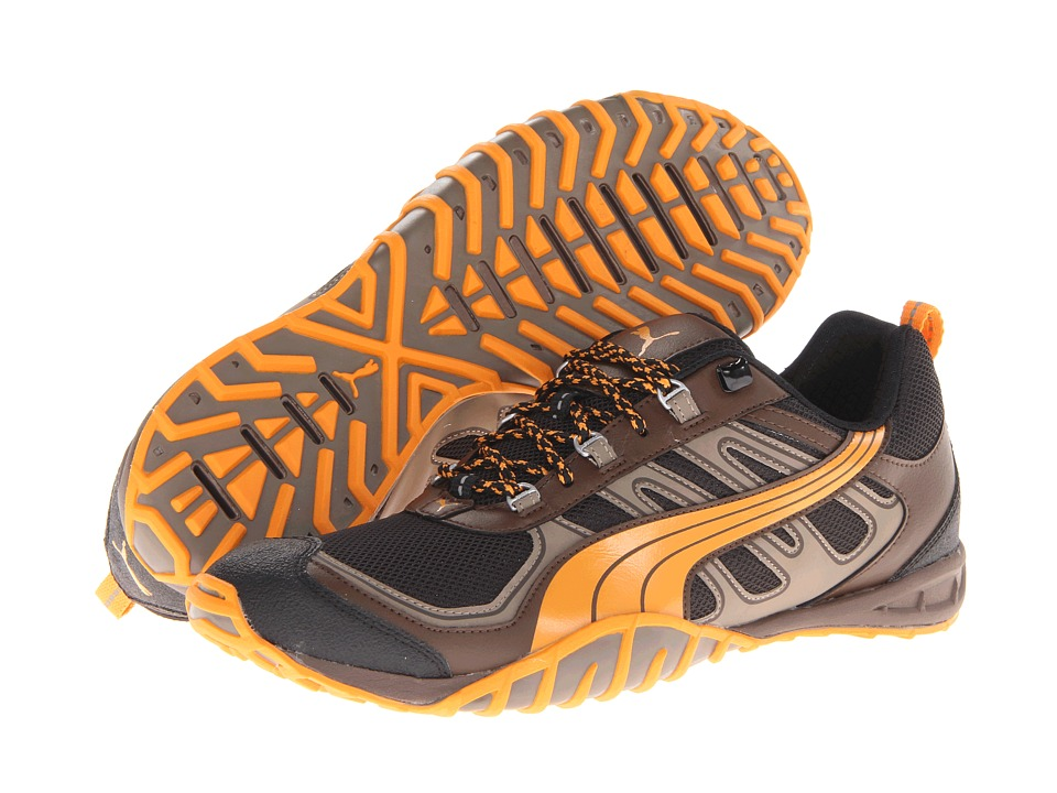 db340664fe2 PUMA Fells Trail Mens Running Shoes (Brown) on PopScreen