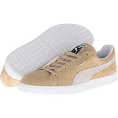 Suede Classic (Curds and Whey/White) Shoes