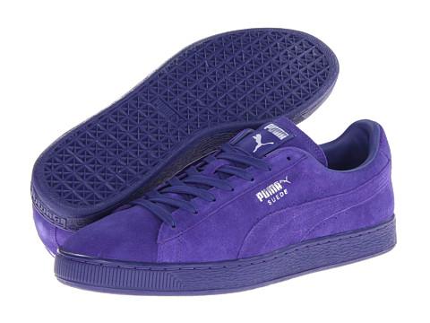 all purple puma suede classic