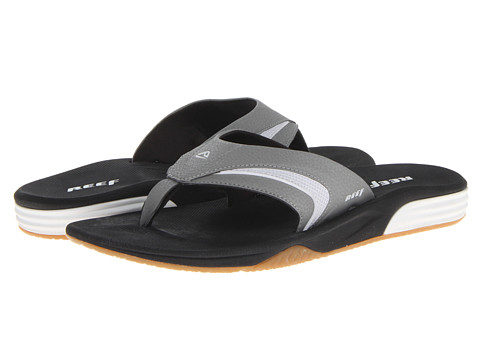 Reef - Phantom Player (White/Black) Men's Sandals