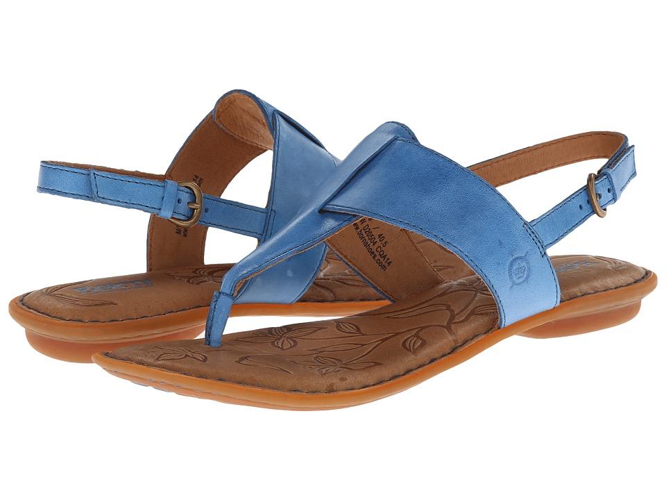 Born - Trini (Sky (Blue)) Women's Sandals