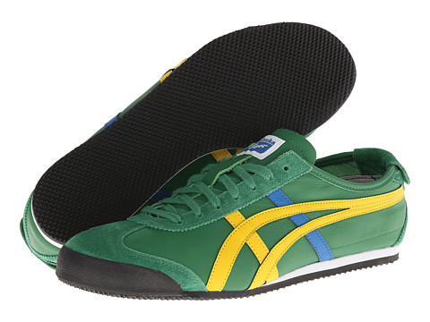Onitsuka Tiger by Asics - Mexico 66 (Amazon Green/Yellow) Shoes