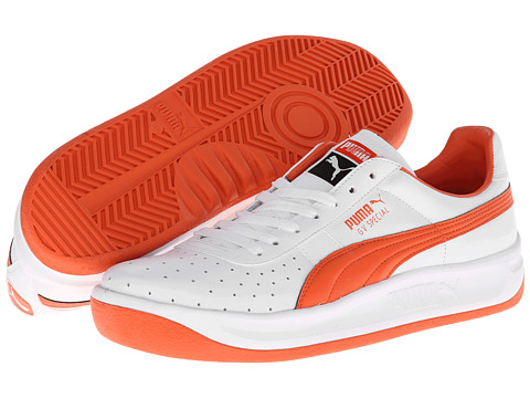 PUMA - GV Special (White/Tigerlily) Classic Shoes