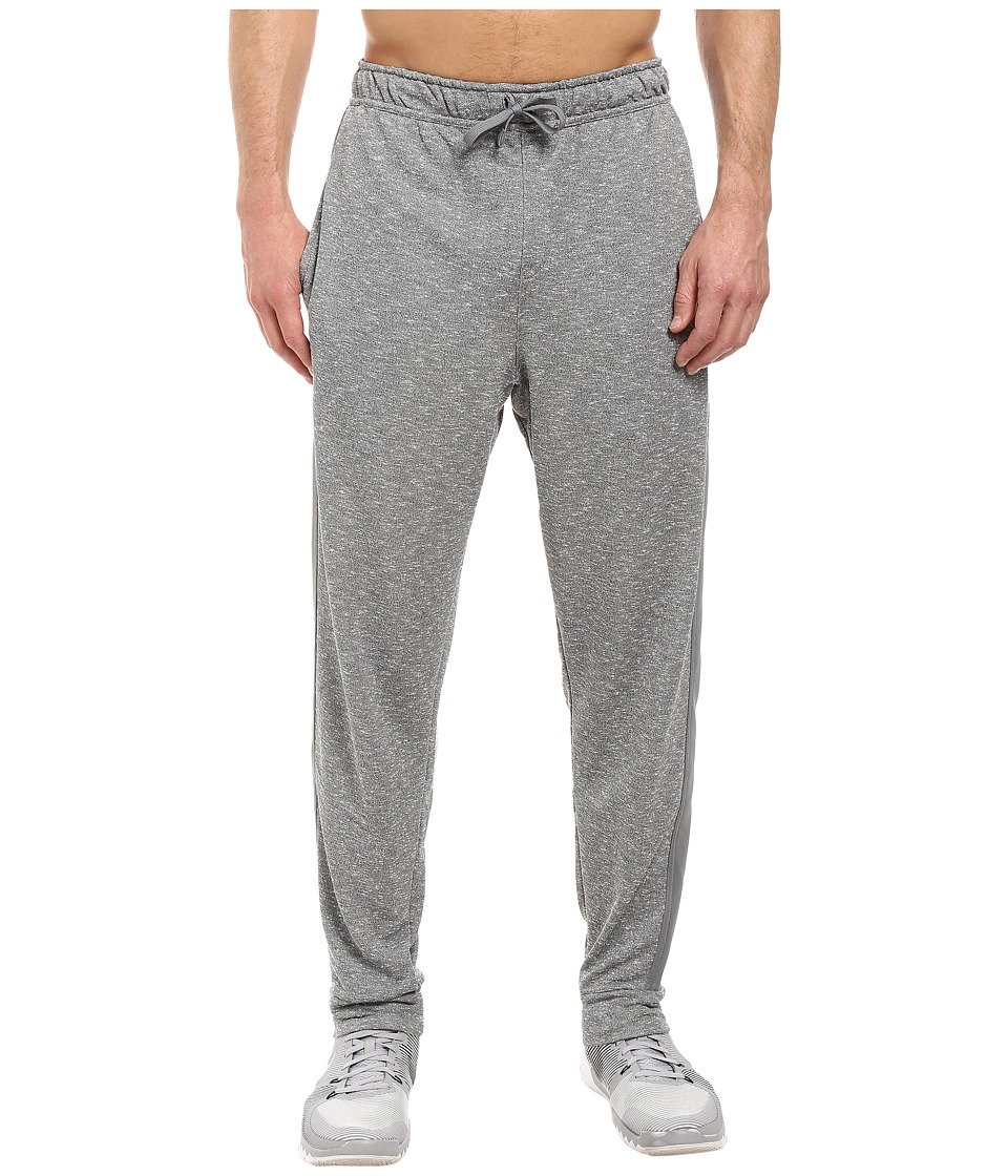 Nike - Dri-FIT French Terry Drawstring Pant (Cool Grey/Black) Men's Casual Pants