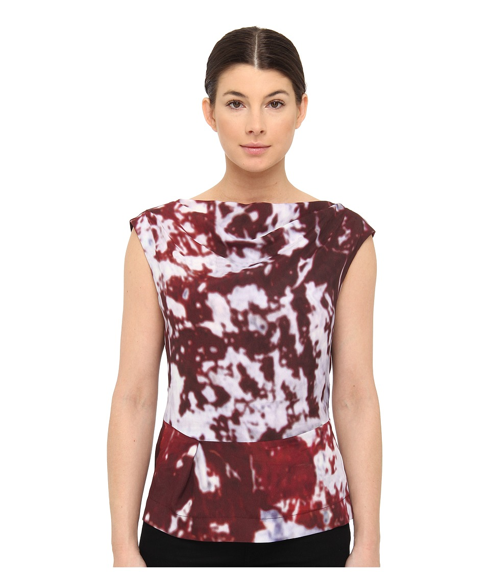 Vivienne Westwood Anglomania - Prophecy Blouse (Wine/Purple Tie Dye) Women's Sleeveless