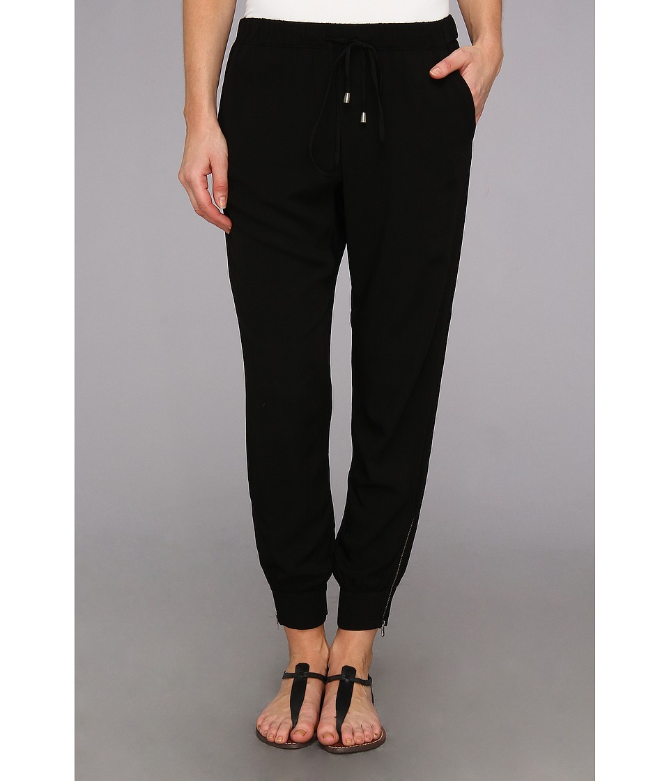 Splendid - Athletic Woven Pant (Black) Women's Casual Pants