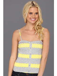SALE! $17.99 - Save $22 on Roxy Pretty Sleep Tank (Heritage Heather Stripe) Apparel - 54.46% OFF $39.50