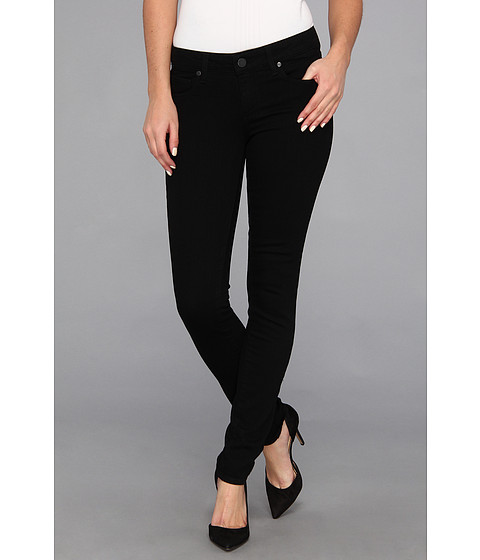 Paige - Skyline Skinny in Black Ink (Black Ink) Women's Jeans