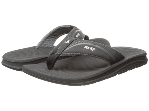 Reef - Phantom Flight (Black/Silver) Men's Sandals