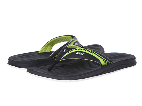 Reef - Phantom Flight (Black/Grey/Green) Men's Sandals