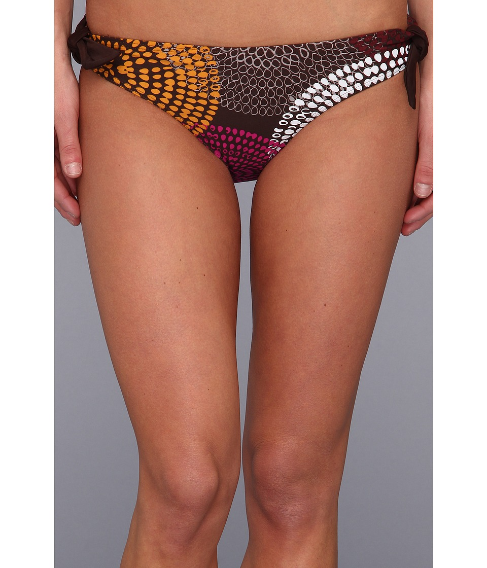Prana - Rena Reversible Bottom (Espresso Swirl) Women's Swimwear