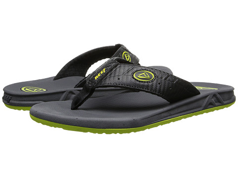 Reef - Phantoms (Neon Yellow) Men's Sandals