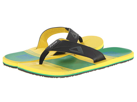 Reef - Reef HT Prints (Brazil) Men's Sandals