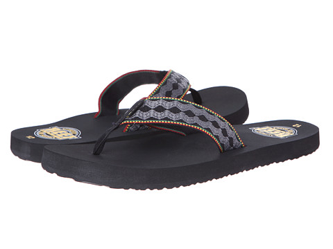 Reef - Smoothy 30th Anniversary (Rasta) Men's Sandals