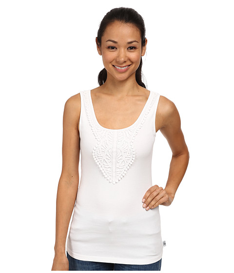 Prana - Alba Tank Top (White) Women's Sleeveless