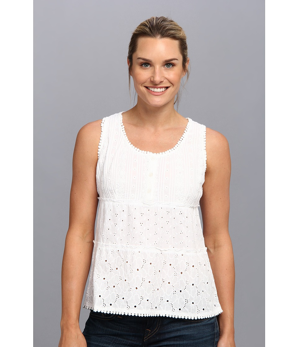 Prana - Kendall Tank Top (White) Women's Sleeveless