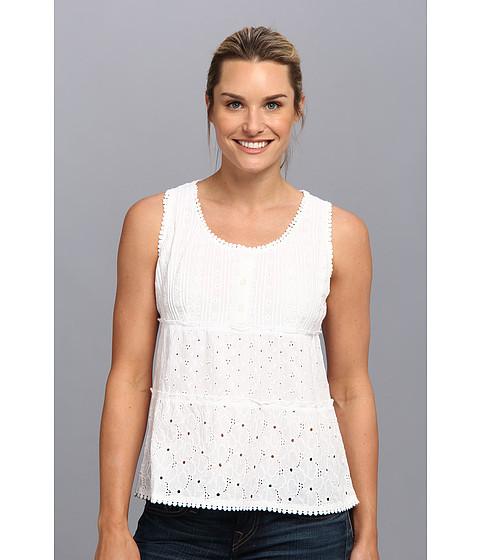 Prana - Kendall Tank Top (White) Women's Sleeveless