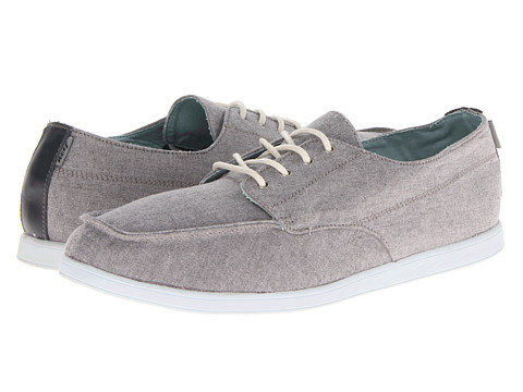 Reef - Adelor (Grey) Men's Lace up casual Shoes