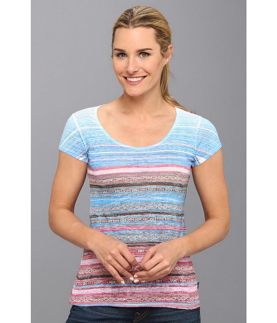 Prana - Ribbon Tee (Dewberry) Women's Short Sleeve Pullover