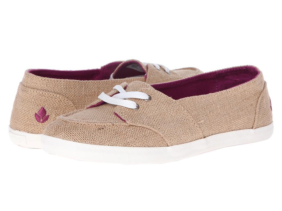 Reef - Deck Hand (Burlap) Women's Slip on Shoes