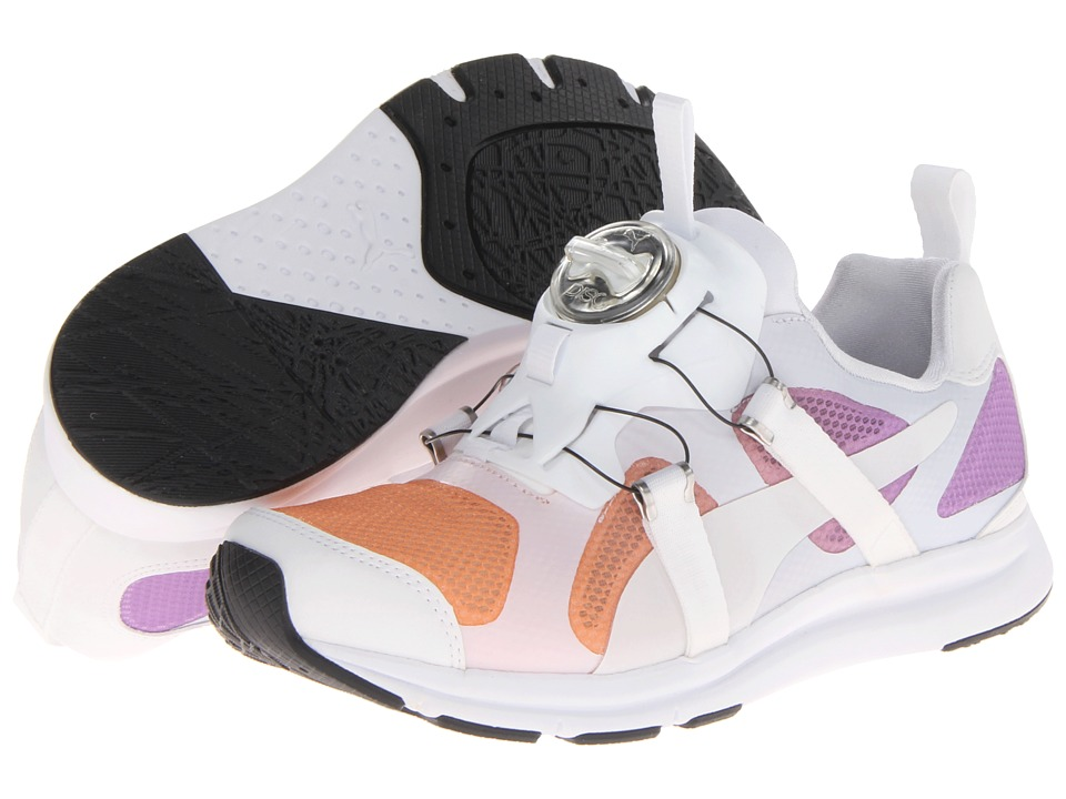 PUMA - Future Disc HST Dip Dye (White) Men's Shoes