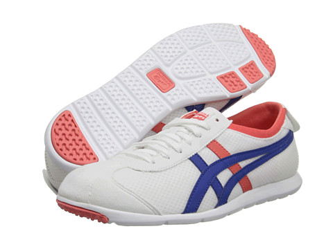 Onitsuka Tiger by Asics - Rio Runner (White/Cobalt Blue) Women's Classic Shoes