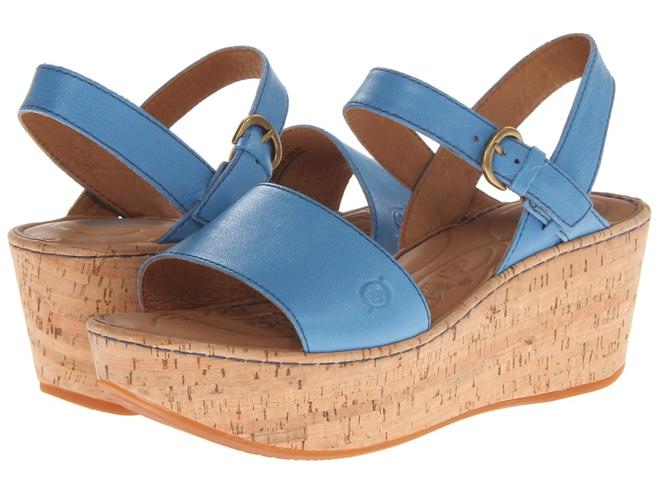 Born - Maldives (Sea Blue) Women's Wedge Shoes