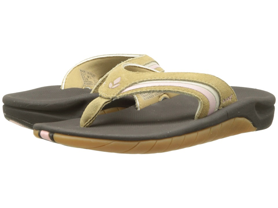 Reef - Leather Slap 3 (Sand) Women's Sandals