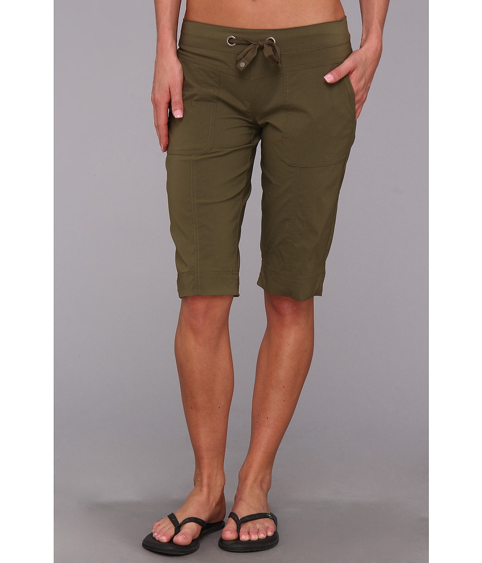 Prana - Bliss Knicker (Cargo Green) Women's Shorts