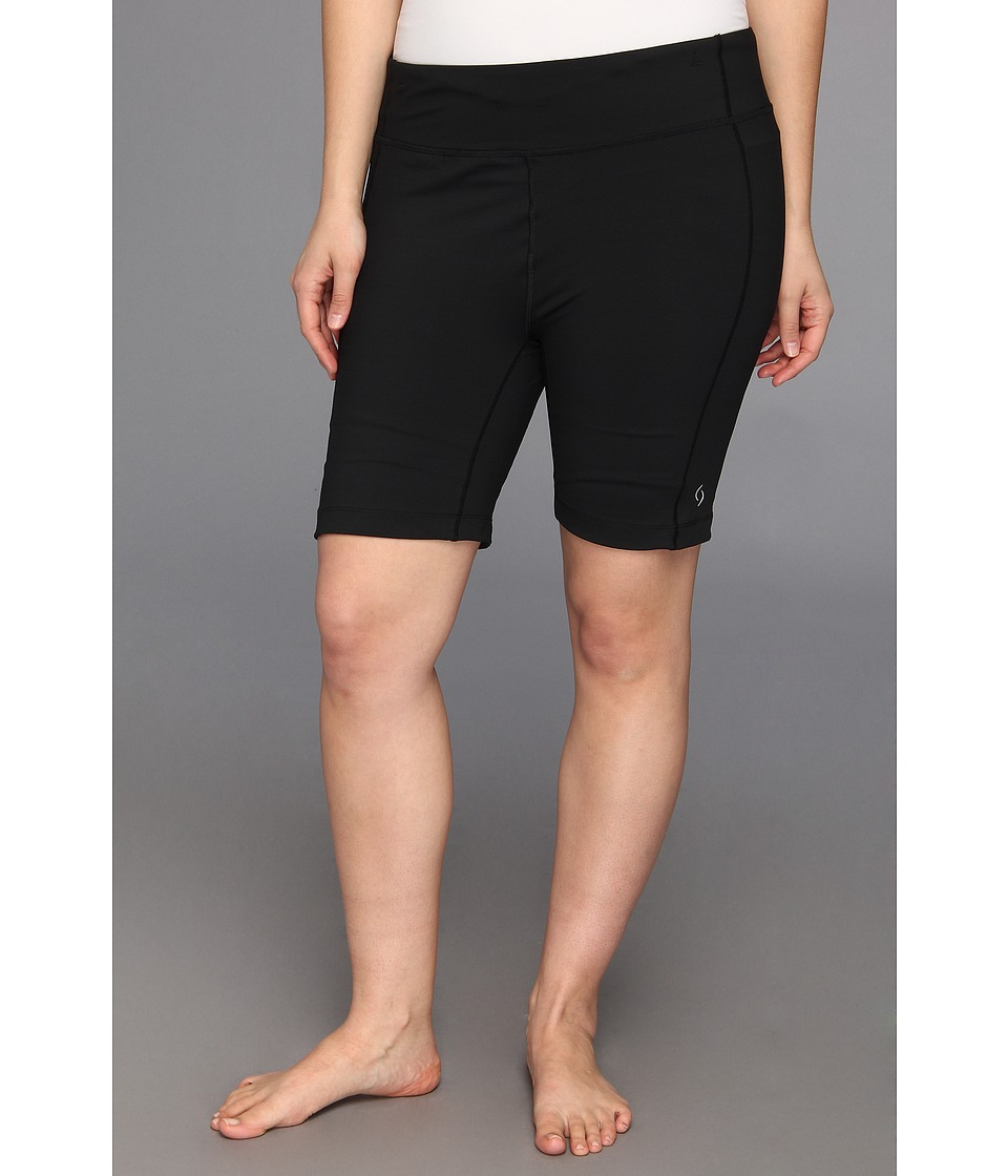 Moving Comfort - Plus Size Endurance 7.5 Short (Black) Women