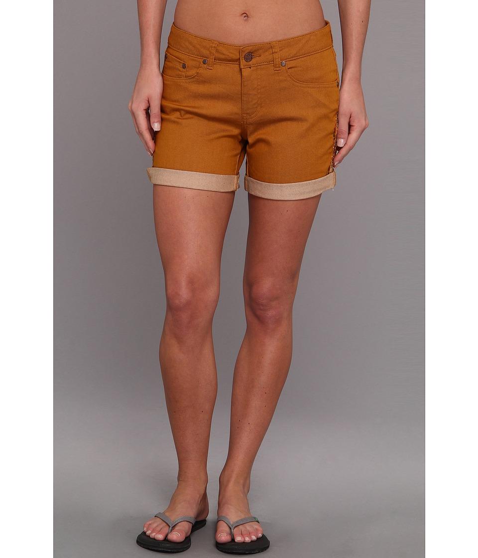Prana - Kara Denim Short (Cumin) Women's Shorts