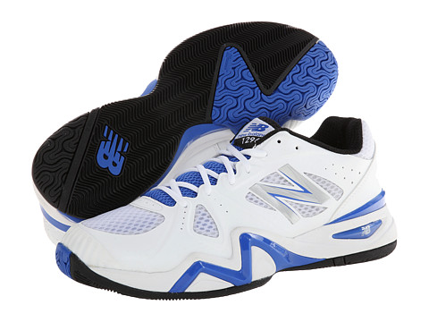 New Balance - MC1296 (White/Blue) Men's Shoes