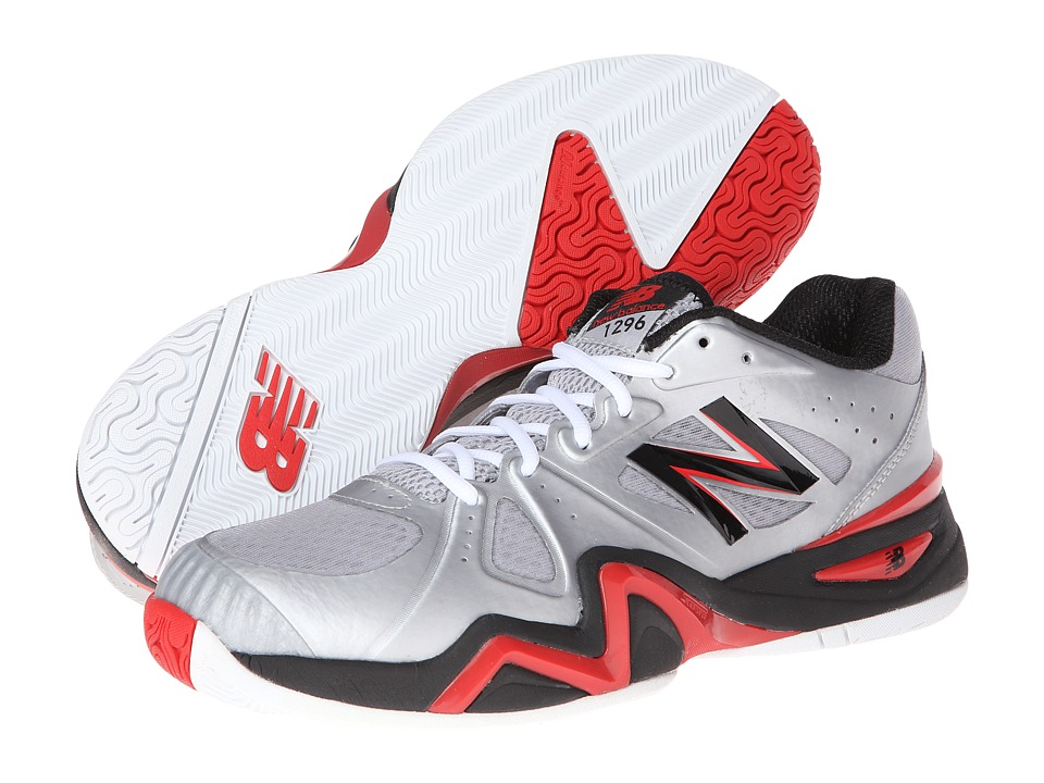 New Balance - MC1296 (Silver/Red) Men