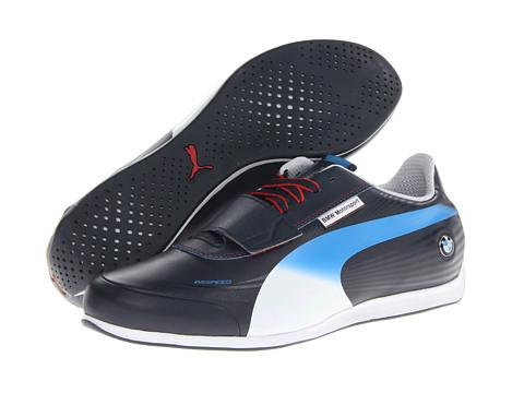 PUMA - evoSPEED Low BMW 1.2 NM (BMW Team Blue/White) Men's Shoes