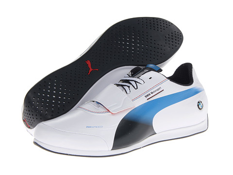 PUMA - evoSPEED Low BMW 1.2 NM (White/BMW Team Blue) Men