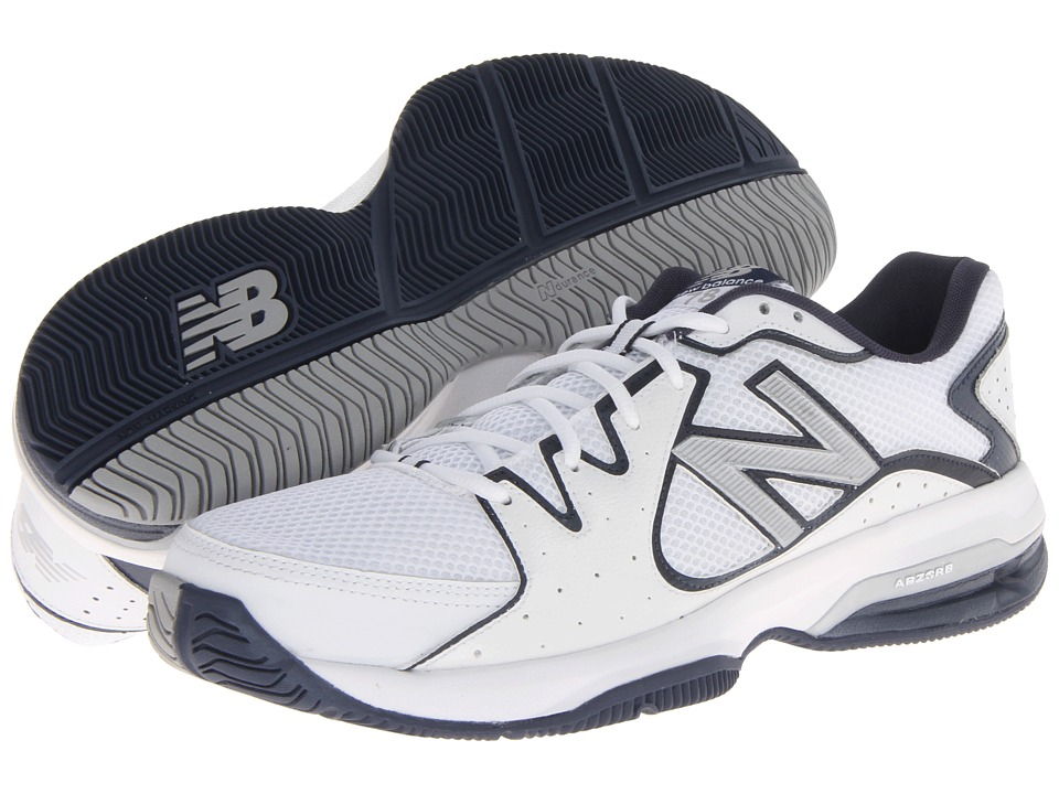 New Balance - MC786 (White/Navy) Men's Shoes