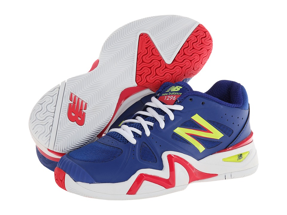 New Balance - WC1296 (Blue) Women's Shoes