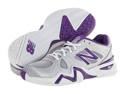 New Balance - WC1296 (Silver/Purple) Women's Shoes