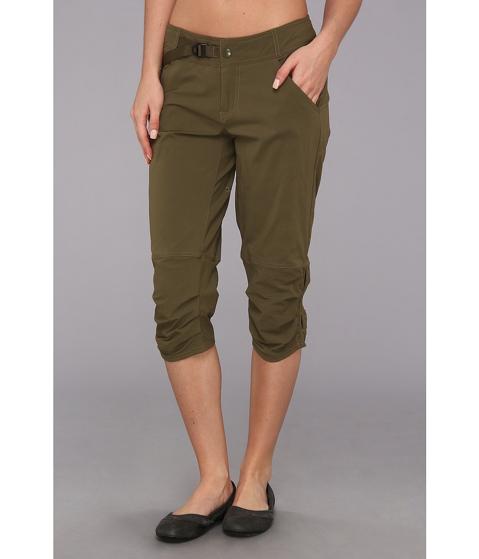 Prana - Jasmine Knicker (Cargo Green) Women's Workout
